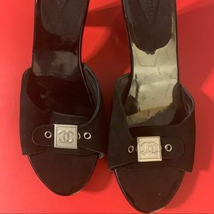 Authentic Chanel Clogs